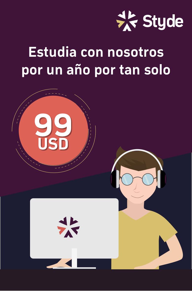 ¡Obtén acceso a todo nuestro contenido por un año por sólo 99 USD