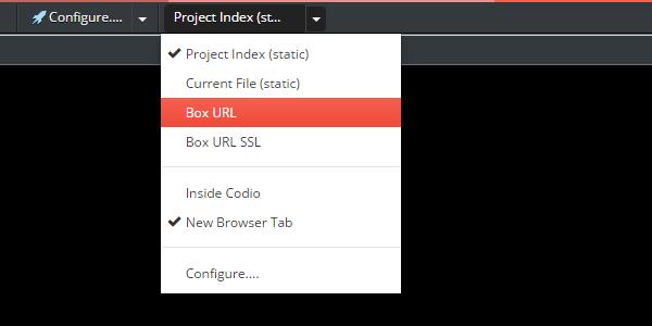 Codio - Box URL