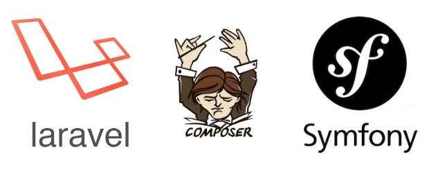 Symfony Composer Laravel