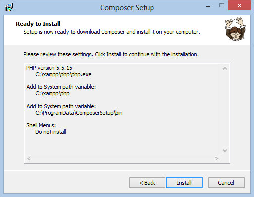 Composer Windows
