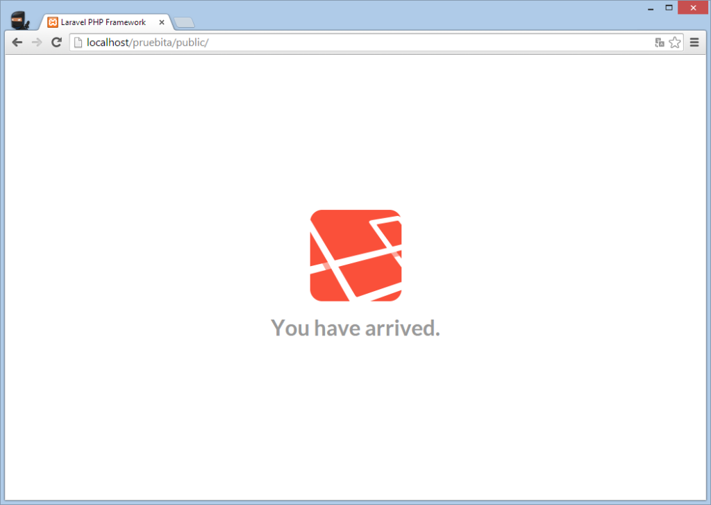 Laravel Chrome