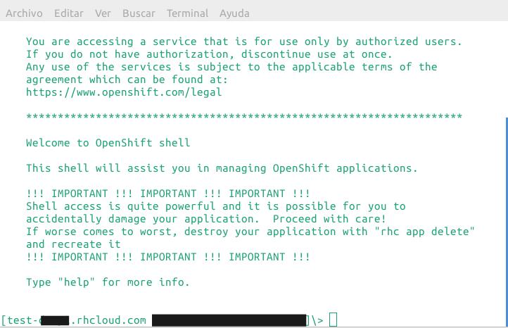 openshift-shell