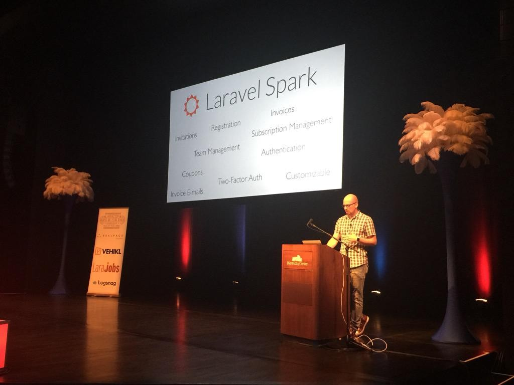 laravel-spark-laracon