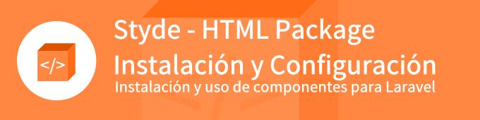 styde-html-package-instalacion-y-configuracion