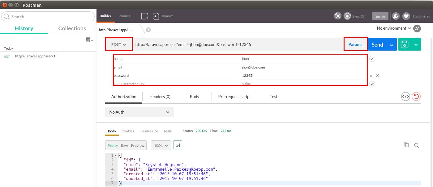 API REST en Laravel 5 1 – Peticiones JSON con Postman – Styde net