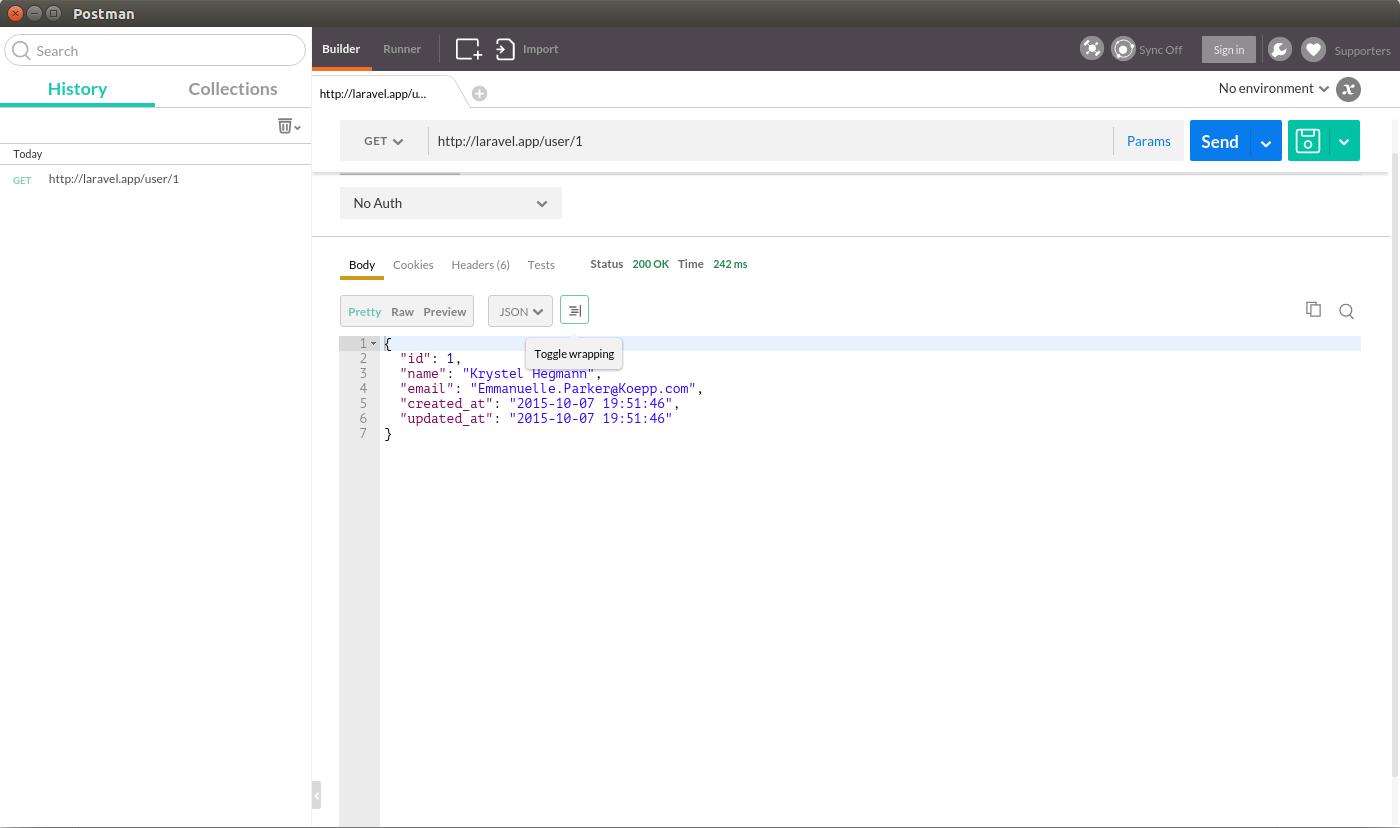 API REST en Laravel 5 1 – Peticiones JSON con Postman