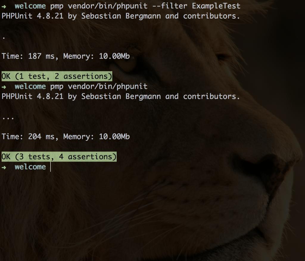 pruebas unitarias con PHPUnit
