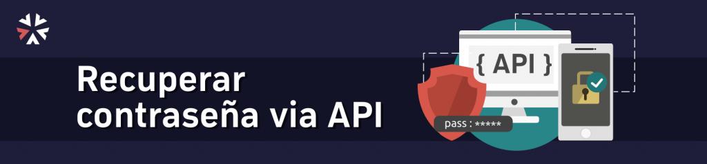 banner tutorial recuperar contraseña via API en Laravel