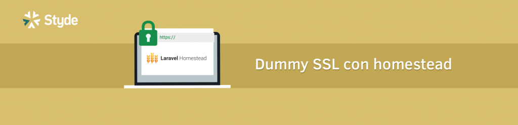 banner Dummy SSL para desarrollo con Homestead