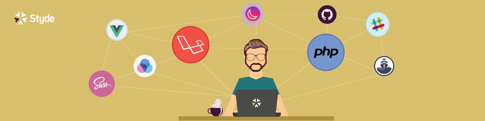 Banner del curso Crea una aplicación con Laravel