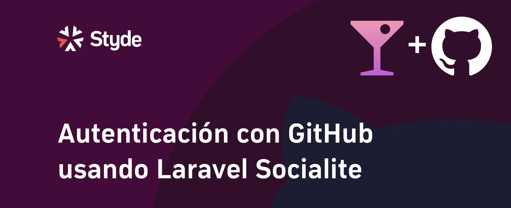 GitHub con Laravel Socialite