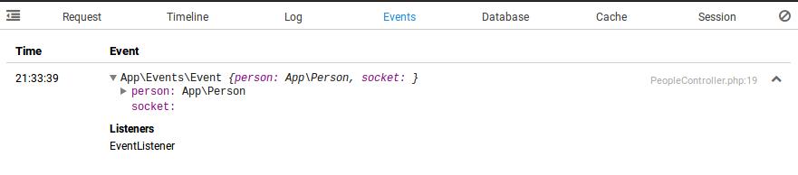clockwork events tab