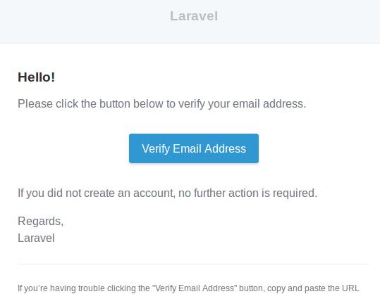 Verfiicacion Email Laravel